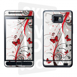 Skincover® Galaxy S2 - Butterfly