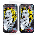 Skincover® Galaxy S4 - Marilyn By Paslier