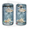 Skincover® Galaxy S3 Mini - Blue Jeans