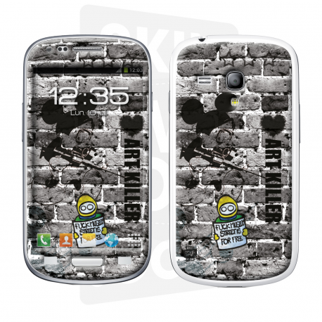 Skincover® Galaxy S3 Mini - Art Killer