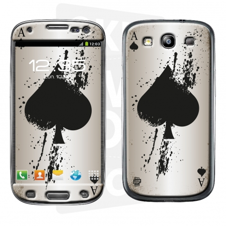 Skincover® Galaxy S3 - Ace Of Spade