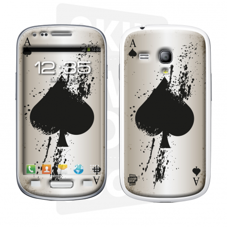 Skincover® Galaxy S3 Mini - Ace Of Spade