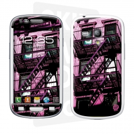 Skincover® Galaxy S3 Mini - Ap'Art Pink By Paslier