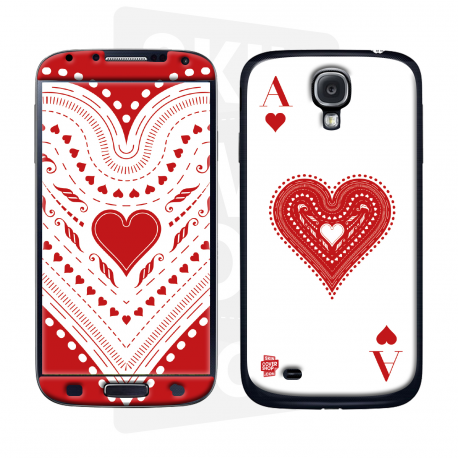 Skincover® Galaxy S4 - Ace Of Heart