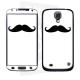 Skincover® Galaxy S4 - Moustache B&W