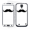 Skincover® Galaxy S4 - Moustache B&W