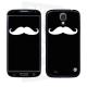 Skincover® Galaxy S4 - Moustache W&B