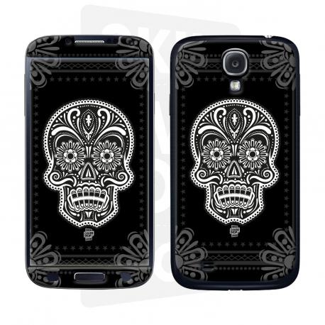 Skincover® Galaxy S4 - Skull & Flower