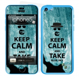 Skincover® iPhone 5C - Bluesky