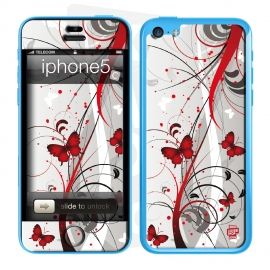 Skincover® iPhone 5C - Butterfly