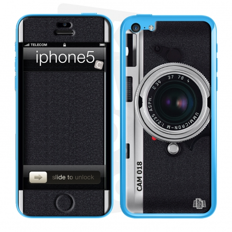 Skincover® iPhone 5C - Camera