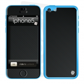 Skincover® iPhone 5C - Carbon