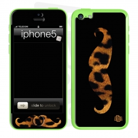 Skincover® iPhone 5C - Leo Stache