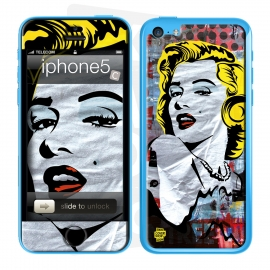 Skincover® iPhone 5C - Marilyn By Paslier