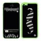 Skincover® iPhone 5C - Moustache Zebre Black