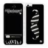 Skincover® iPhone 5C - Moustache Zebre Black