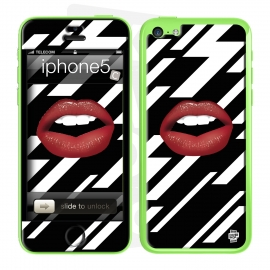 Skincover® iPhone 5C - Rouge Eclair