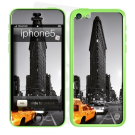 Skincover® iPhone 5C - Taxi NYC By Paslier