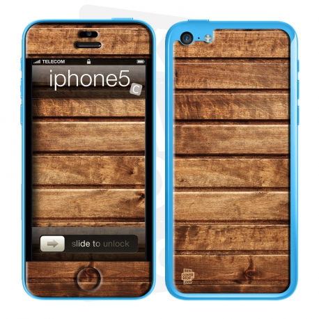 Skincover® iPhone 5C - Wood