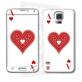 Skincover® Galaxy S5  - Ace Of Heart