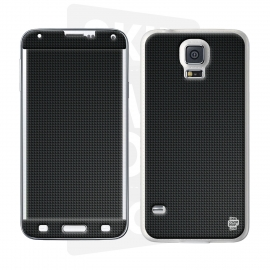 Skincover® Galaxy S5  - Carbon