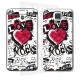 Skincover® Galaxy S5  - Love & Rock