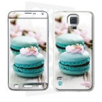 Skincover® Galaxy S5  - Macaron Flowers