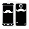 Skincover® Galaxy S5  - Moustache B&W