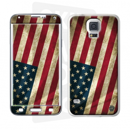 Skincover® Galaxy S5  - Old Glory