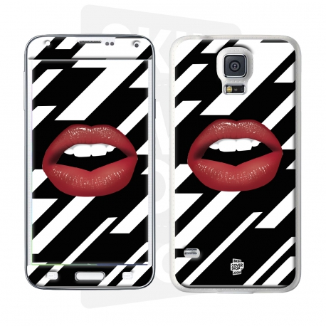 Skincover® Galaxy S5  - Rouge Eclair