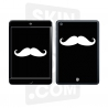 Skincover® Ipad Mini - Moustache W&B