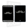 Skincover® Ipad Mini - Moustache Zebre Black