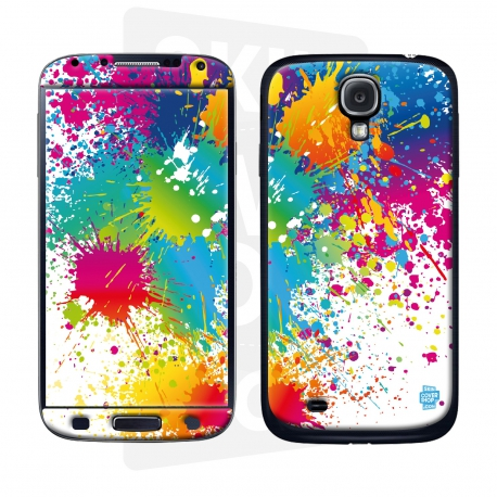 Skincover® Galaxy S4 - Abstr'Art