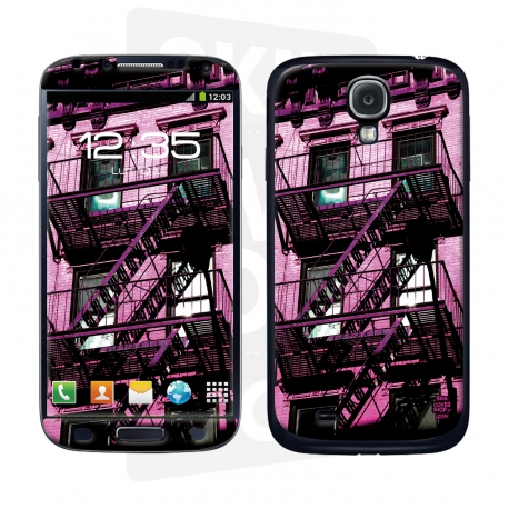Skincover® Galaxy S4 - Ap'Art Pink By Paslier