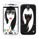 Skincover® Galaxy S4 - Black Swan