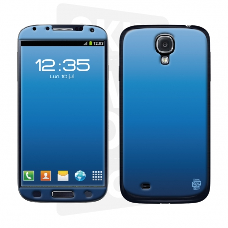 Skincover® Galaxy S4 - Blue
