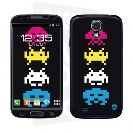 Skincover® Galaxy S4 - Invader