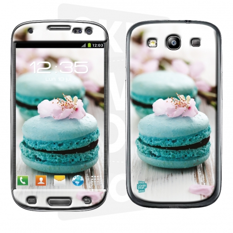 Skincover® Galaxy S3 - Macaron Flowers