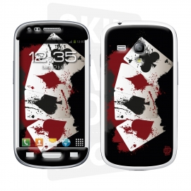 Skincover® Galaxy S3 Mini - 4 Aces
