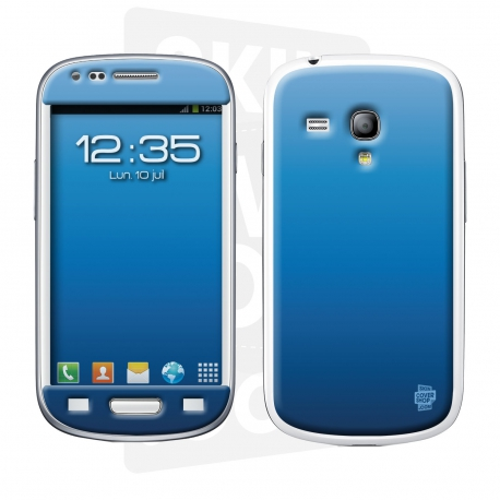 Skincover® Galaxy S3 Mini - Blue