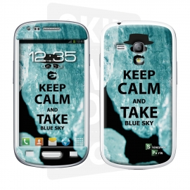 Skincover® Galaxy S3 Mini - Bluesky