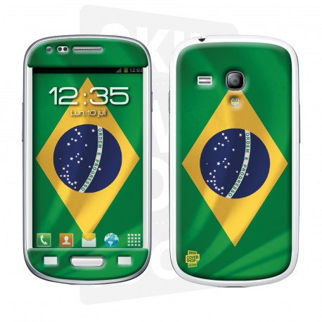 Skincover® Galaxy S3 Mini - Brazil