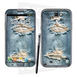 Skincover® Galaxy Note 2 - Blue Jeans
