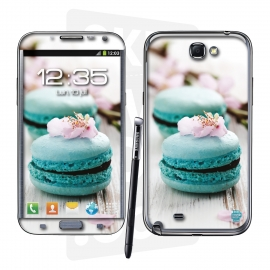 Skincover® Galaxy Note 2 - Macaron Flowers