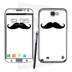 Skincover® Galaxy Note 2 - Moustache B&W