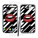 Skincover® Galaxy Note 2 - Rouge Eclair