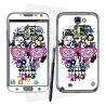 Skincover® Galaxy Note 2 - Skull & Art