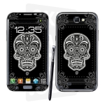 Skincover® Galaxy Note 2 - Skull & Flower