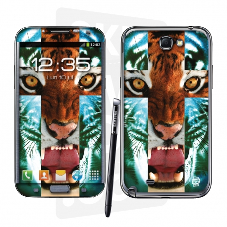 Skincover® Galaxy Note 2 - Tiger Cross