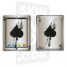 Skincover® Nouvel iPad / iPad 2 - Ace Of Spade